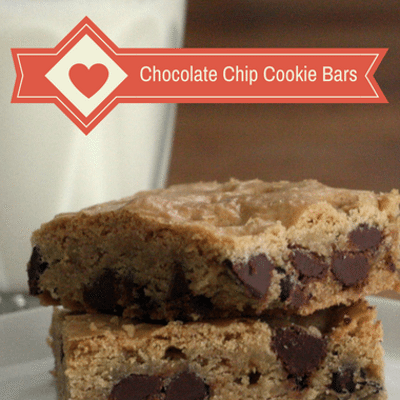 Rachael Ray: Chocolate Chip Cookie Bars Recipe
