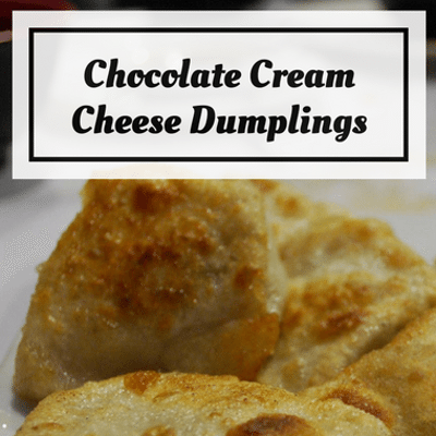 Rachael Ray: Clinton Kelly Chocolate Cream Cheese Dumplings