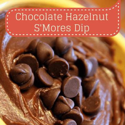 The Chew: Chocolate Hazelnut S'Mores Dip Recipe