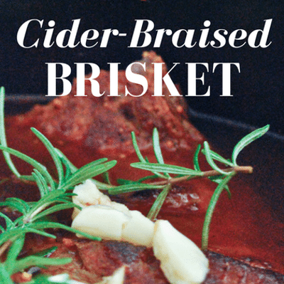 Rachael Ray: Cider-Braised Brisket + Red Cabbage & Apples