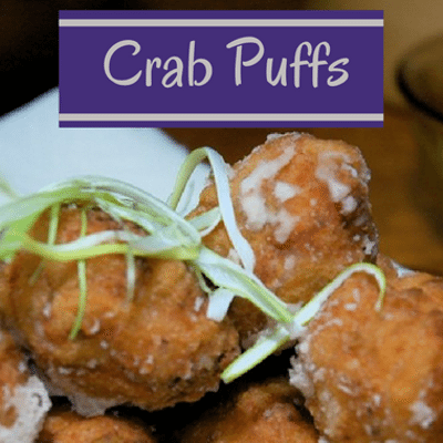 The Chew: Crab Puffs + Sin & Tonic Mocktail Recipe