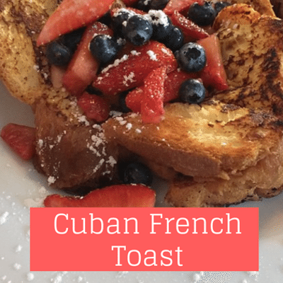 The Chew: Gloria Estefan Cuban French Toast Recipe