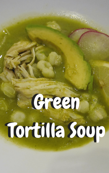Rachael Ray: Green Tortilla Soup Recipe
