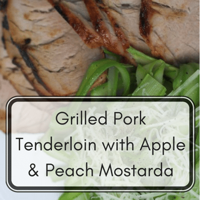 The Chew: Grilled Pork Tenderloin With Apple & Peach Mostarda