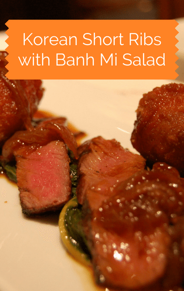 "The Chew: Korean Short Ribs With ""Banh Mi"" Salad Recipe"