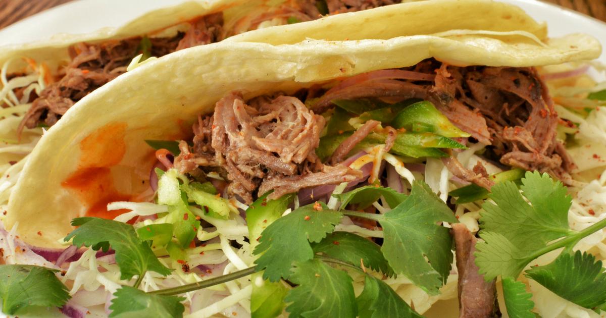 Rachael Ray: Marc Murphy Leftover Brisket Tacos & Chipotle ...