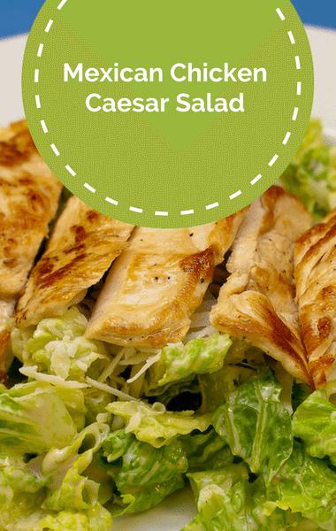 The Chew: Mexican Chicken Caesar Salad Recipe