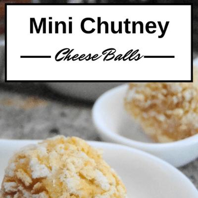The Chew: Mini Chutney Cheese Balls Recipe