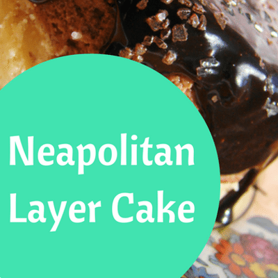The Chew: Neapolitan Layer Cake Recipe