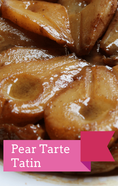 The Chew: Mario Batali Pear Tarte Tatin Recipe