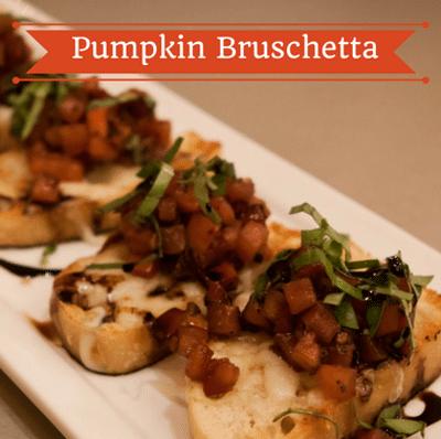 The Chew: Pumpkin Bruschetta Recipe