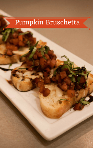 The Chew: Pumpkin Bruschetta Recipe