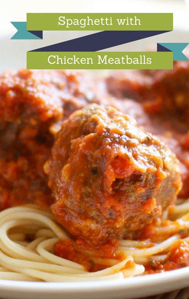 The Chew: Spaghetti With Chicken Meatballs Recipe
