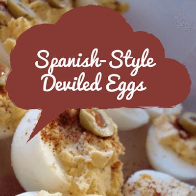 Rachael Ray: Spanish Deviled Eggs + Pimenton & Manzanillo Olives