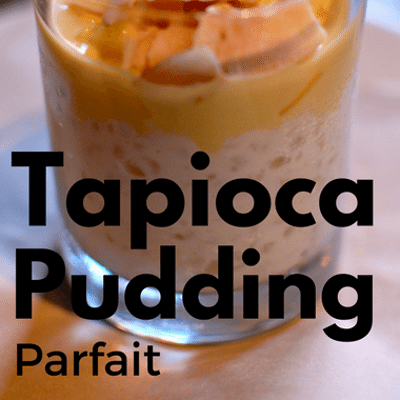 The Chew: Tapioca Pudding Parfait Recipe