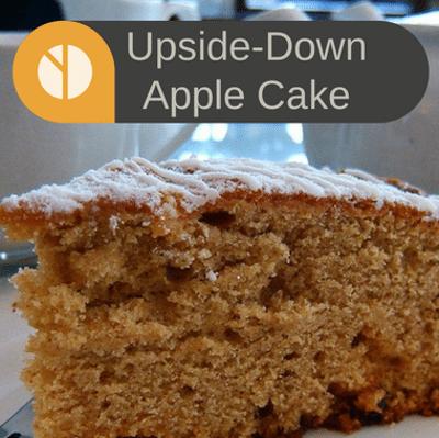 The Chew: Upside-Down Apple Cake Recipe