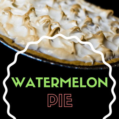 The Chew: Watermelon Pie Recipe