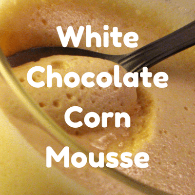 The Chew: White Chocolate Corn Mousse Recipe