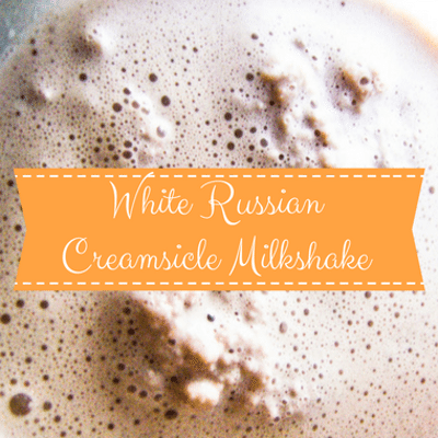 Rachael Ray: Curtis Stone White Russian Creamsicle Milkshake