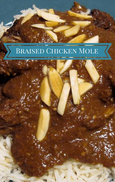 The Chew: Braised Chicken Mole Recipe