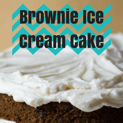 Rachael Ray: Brownie Ice Cream Cake Recipe