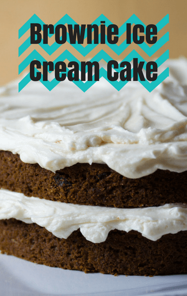 Rachael Ray: Brownie Ice Cream Cake Recipe