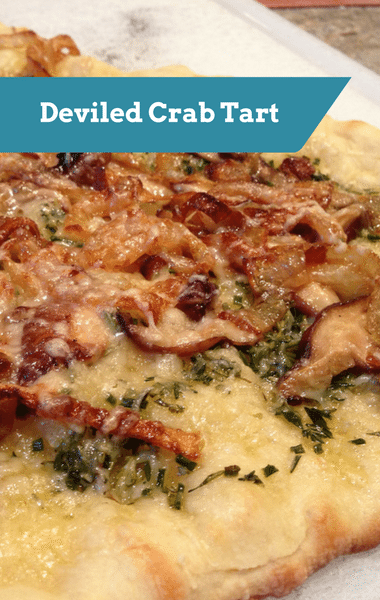 The Chew: Deviled Crab Tart Recipe