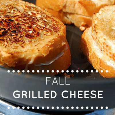 The Chew: Fall Grill Cheese Sandwich Recipe