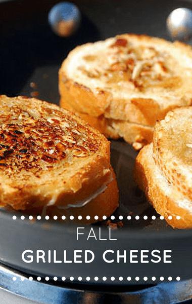 The Chew: Fall Grill Cheese Sandwich Recipe