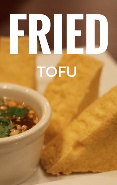The Chew: Fried Tofu With Jicama Slaw Recipe