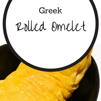 The Chew: Greek Rolled Omelet Recipe
