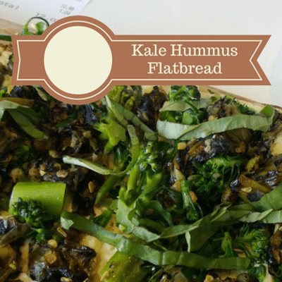 The Chew: Kale Hummus Flatbreads Recipe