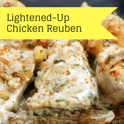 The Chew: Lightened-Up Chicken Reuben Recipe