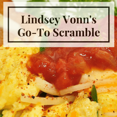 Rachael Ray: Lindsey Vonn Go-To Scramble Recipe