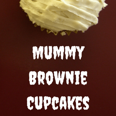 Rachael Ray: Sarah Michelle Gellar Mummy Brownie Cupcakes Recipe