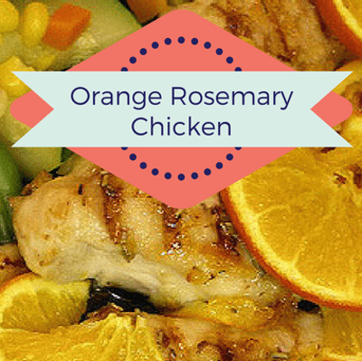 Rachael Ray: Orange Rosemary Chicken With Crispy Prosciutto