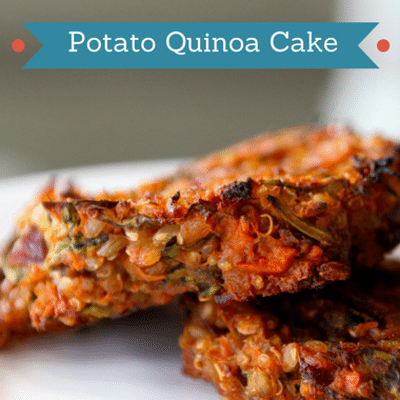 The Chew: Potato Quinoa Cake Recipe