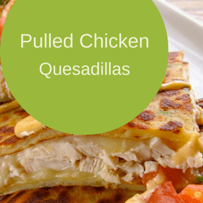 The Chew: Pulled Chicken Quesadillas Recipe