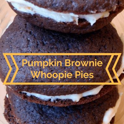 Rachael Ray: Sarah Michelle Gellar Pumpkin Brownie Whoopie Pies