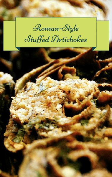 The Chew: Roman-Style Stuffed Artichokes Recipe