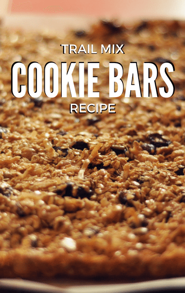 The Chew: Trail Mix Cookie Bars Recipe